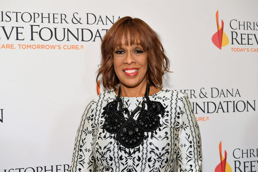 Gayle King arrives at The Christopher & Dana Reeve Foundation | Dia Dipasupil/Getty Images for Christopher & Dana Reeve Foundation