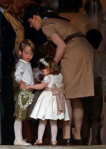 Prince George Princess Charlotte Maria Borrallo