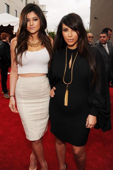 Kim Kardashian and Kylie Jenner