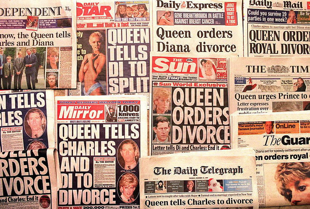 The Queen ordered their divorce