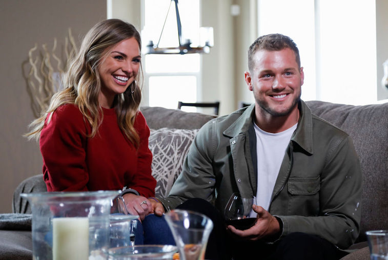 Hannah Brown and Colton Underwood