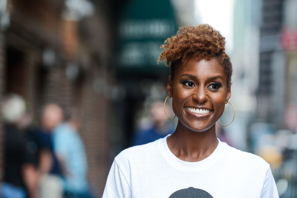 "Issa Rae enters the ""The Late Show With Stephen Colbert"
