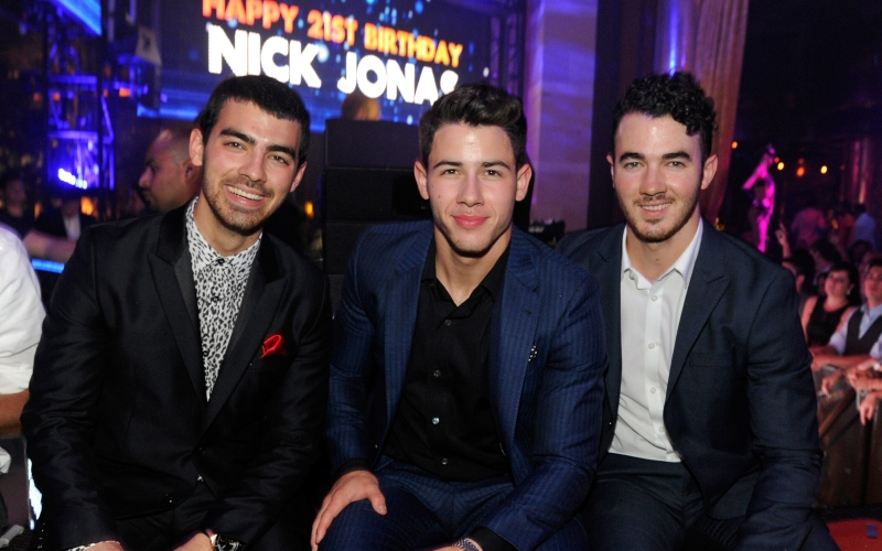 Joe Jonas, Nick Jonas and Kevin Jonas