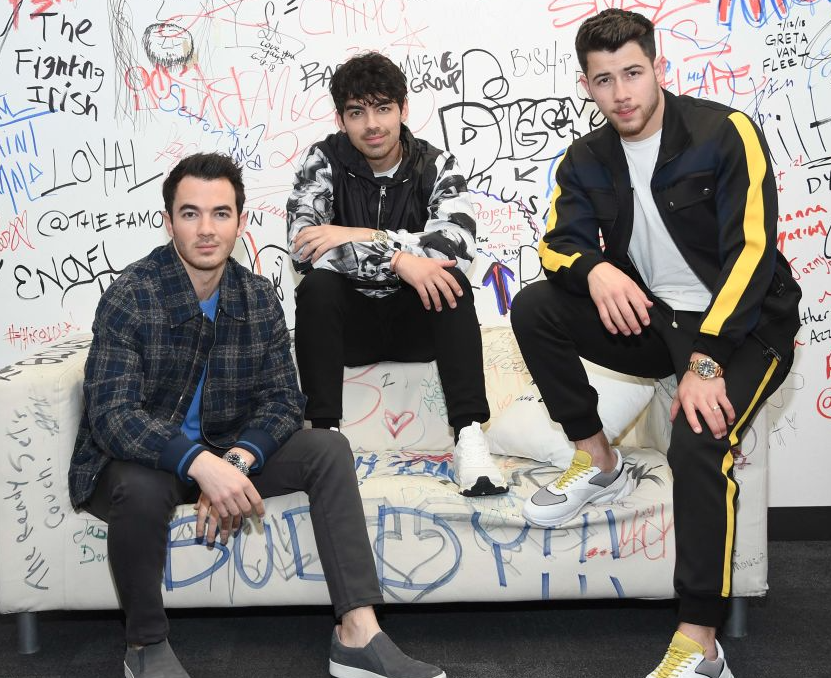 Jonas Brothers together
