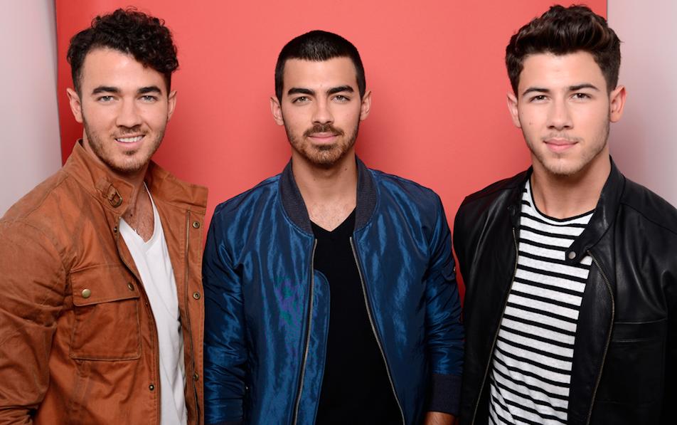 The three Jonas Brothers