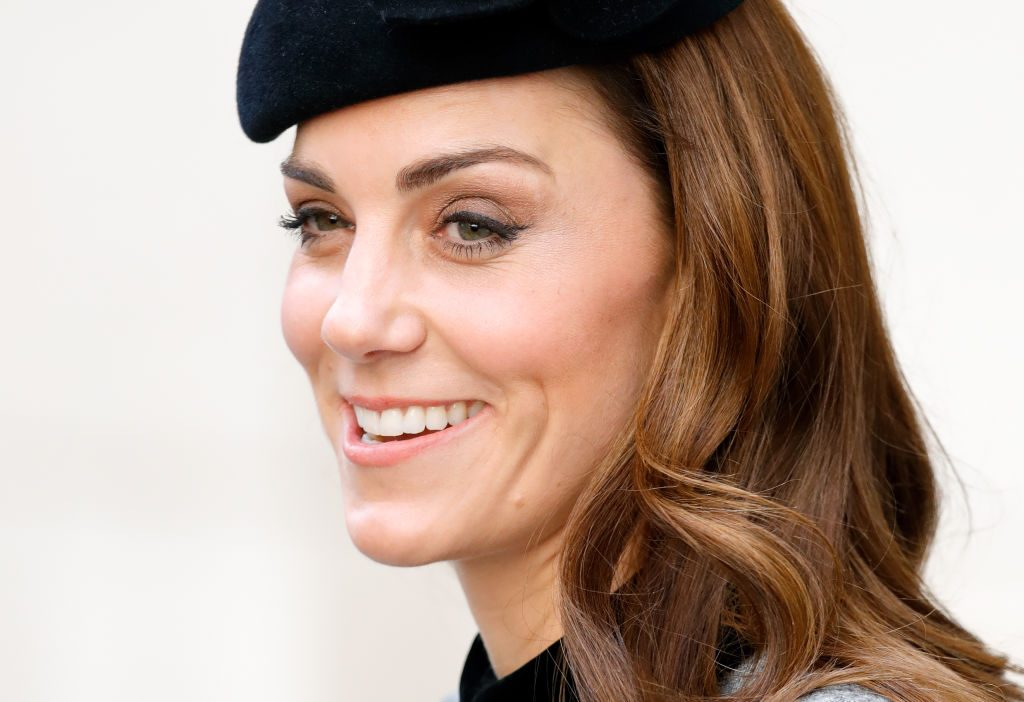 Kate Middleton on her first solo appearance with Queen Elizabeth