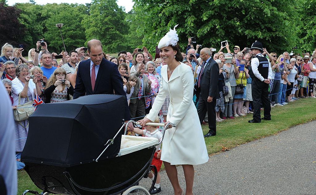 Kate Middleton and her stroller