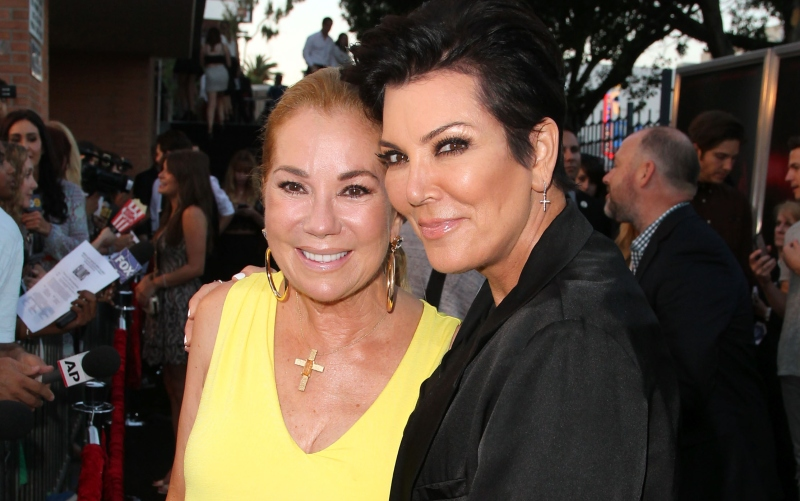 Kathie Lee Gifford and Kris Jenner