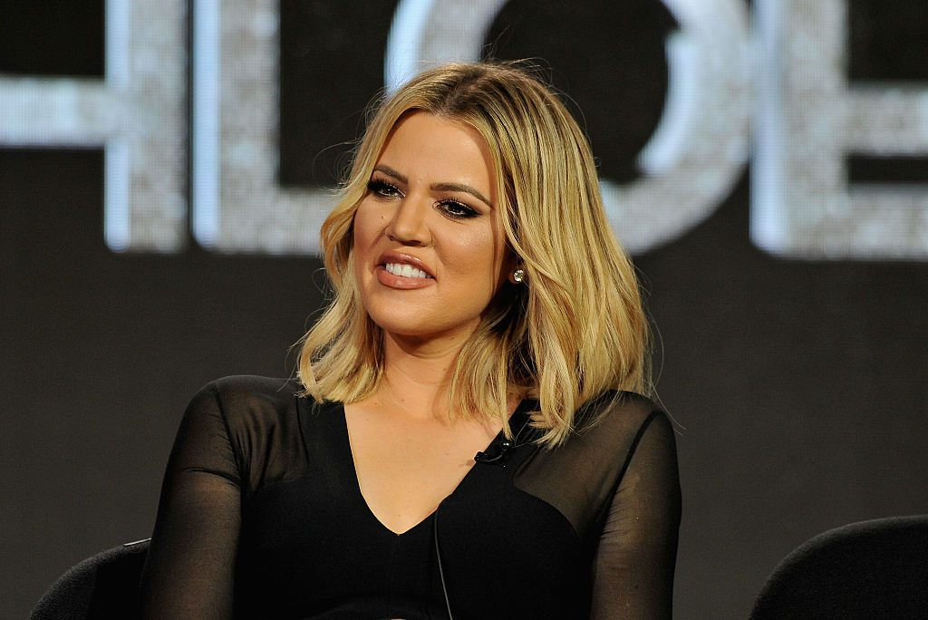 Khloe Kardashian & Tristan Thompson Reunite For True's 1st Birthday