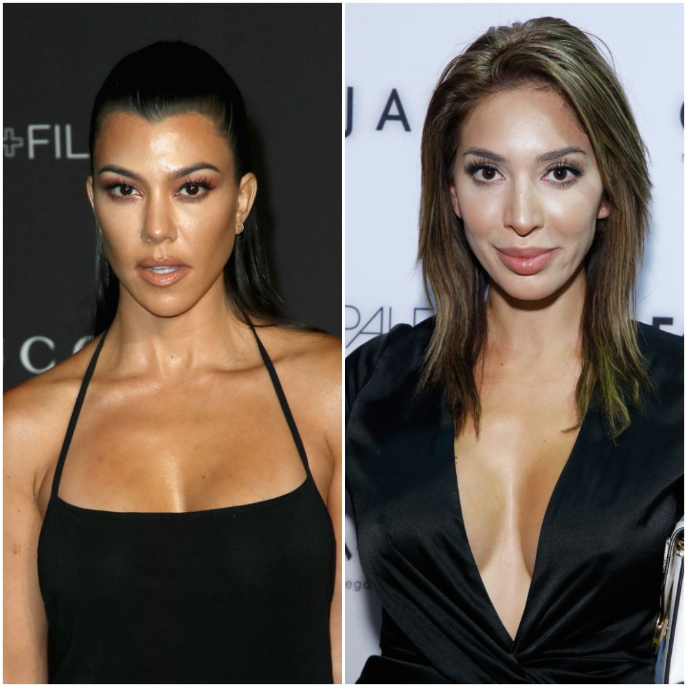 Farrah Abraham Says She Didnt Copy Kourtney Kardashians Pic