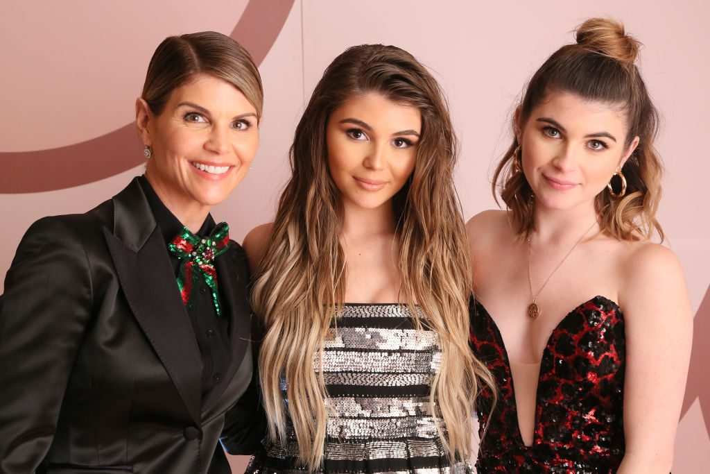 Lori Loughlin, Olivia Jade Giannulli and Isabella Rose Giannulli | Gabriel Olsen/Getty Images for Sephora Collection