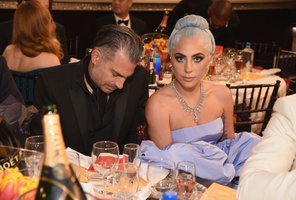 Lady Gaga and Christian Carino |  Michael Kovac/Getty Images for Moet & Chandon