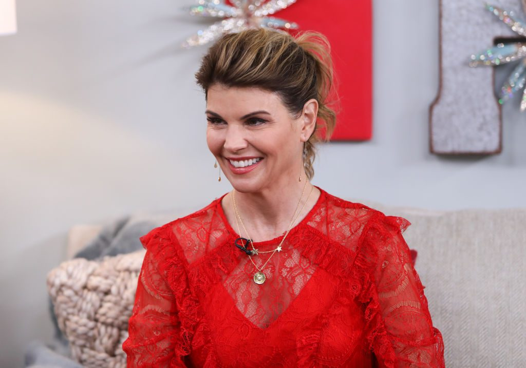 Lori Loughlin visits Hallmark's 'Home & Family' at Universal Studios Hollywood | Paul Archuleta/Getty Images