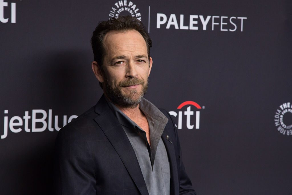 """Riverdale's Luke Perry arrives for the 2018 PaleyFest Los Angeles - CW's """"Riverdale"""" in 2018."""
