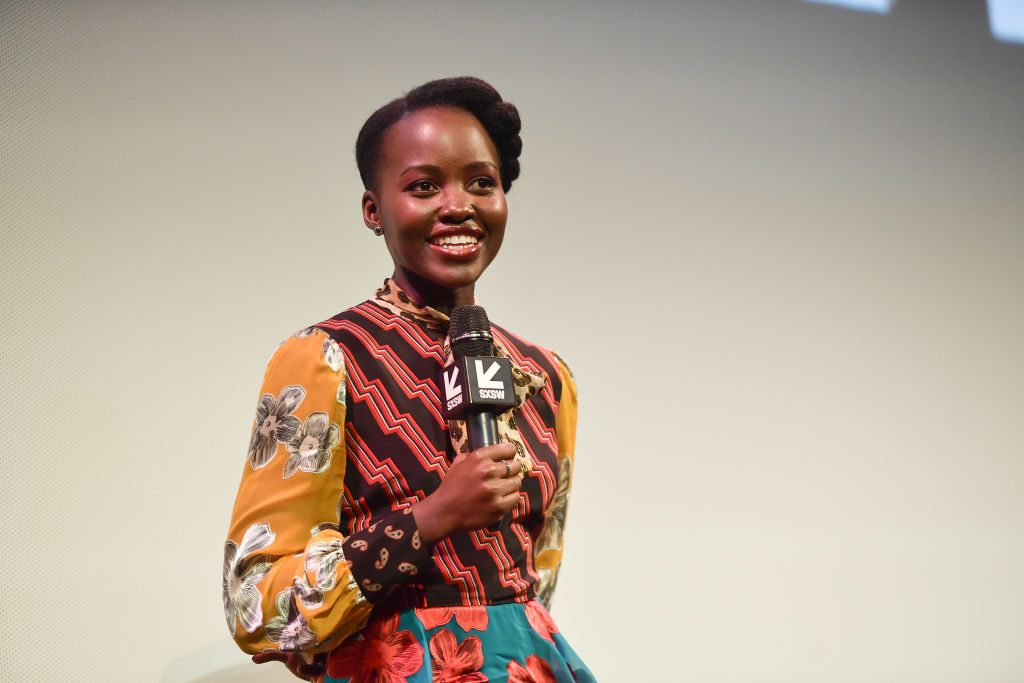 """Lupita Nyong'o attends the """"Little Monsters"""" Premiere 2019 SXSW"""
