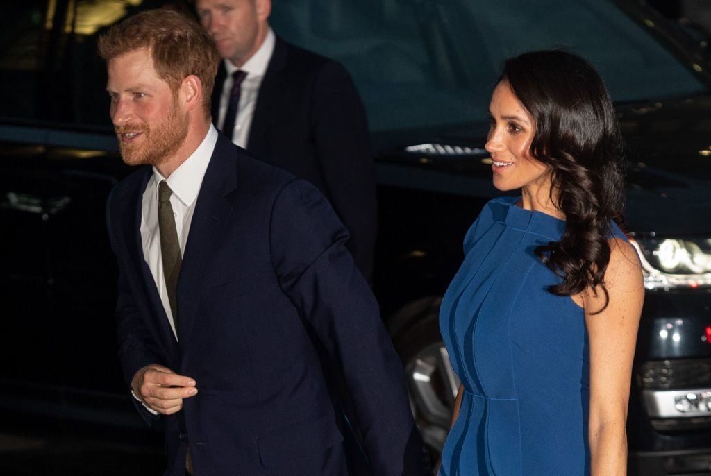 Meghan Markle and Prince Harry   Mark Cuthbert/UK Press via Getty Images