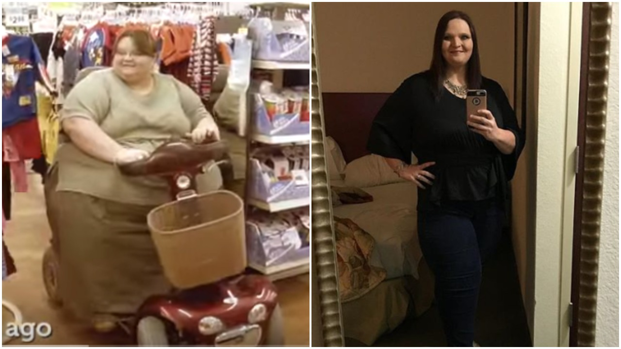 Melissa Morris before and after   via YouTube and Instagram (@melissasheisme)