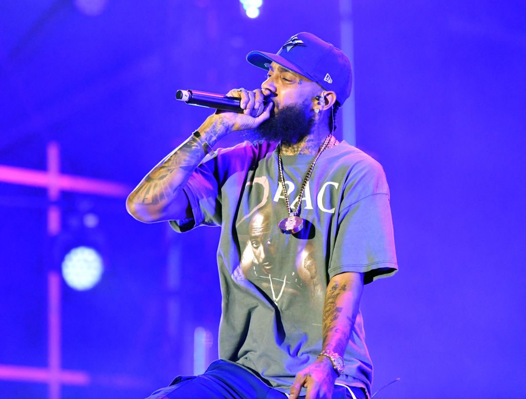 Nipsey Hussle Scott Dudelson/Getty Images
