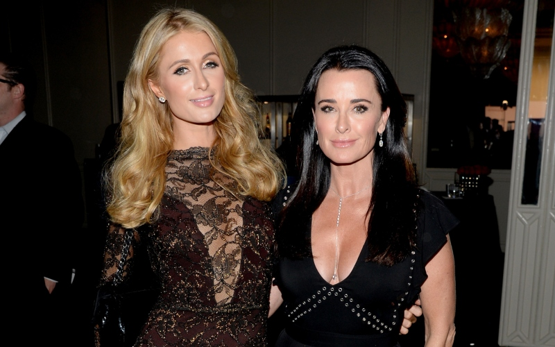 Paris Hilton and Kyle Richards