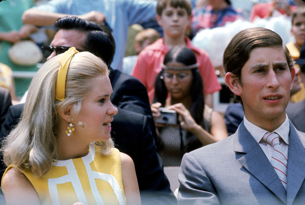 Prince Charles and Tricia Nixon in 1970.