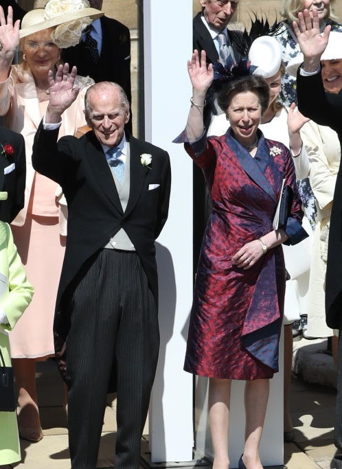 Prince Philip and Princess Anne