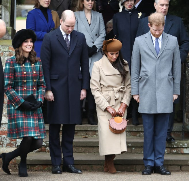 Kate Middleton, Prince William, Meghan Markle, and Prince Harry