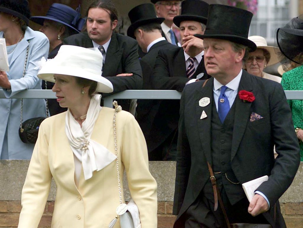 Princess Anne and Andrew Parker Bowles