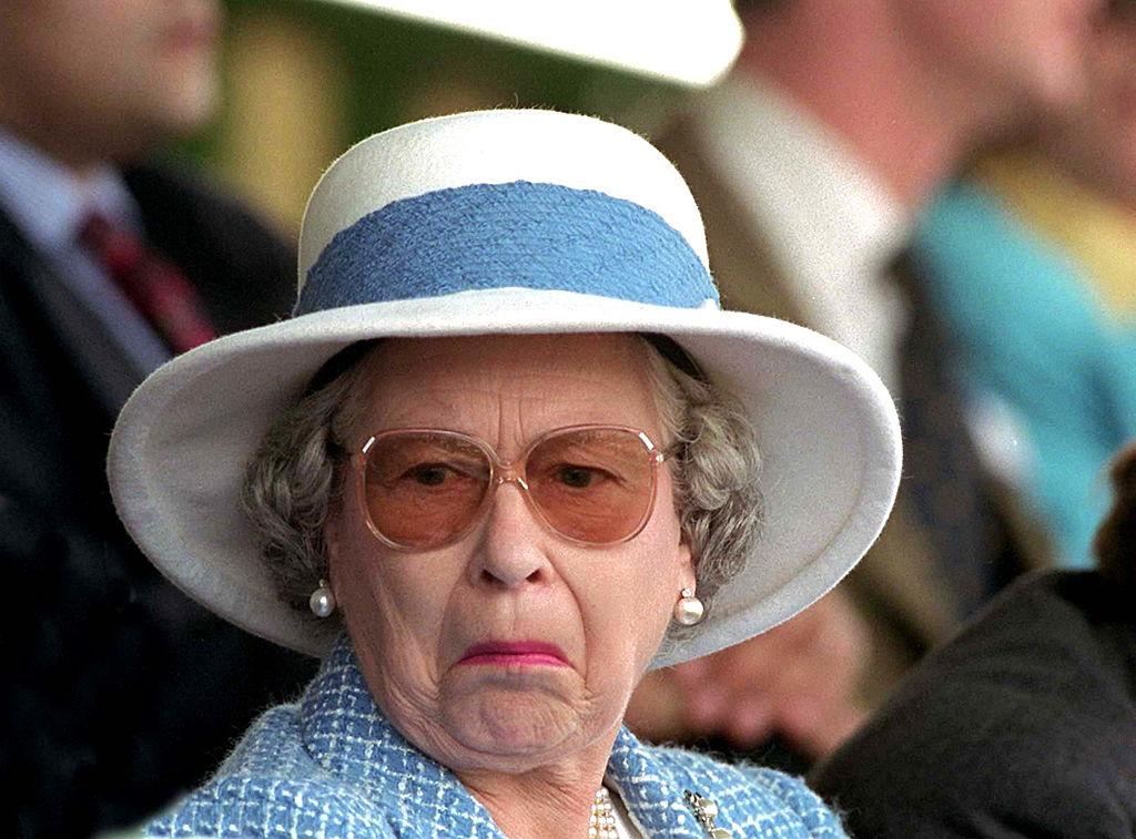 Queen Elizabeth not amused