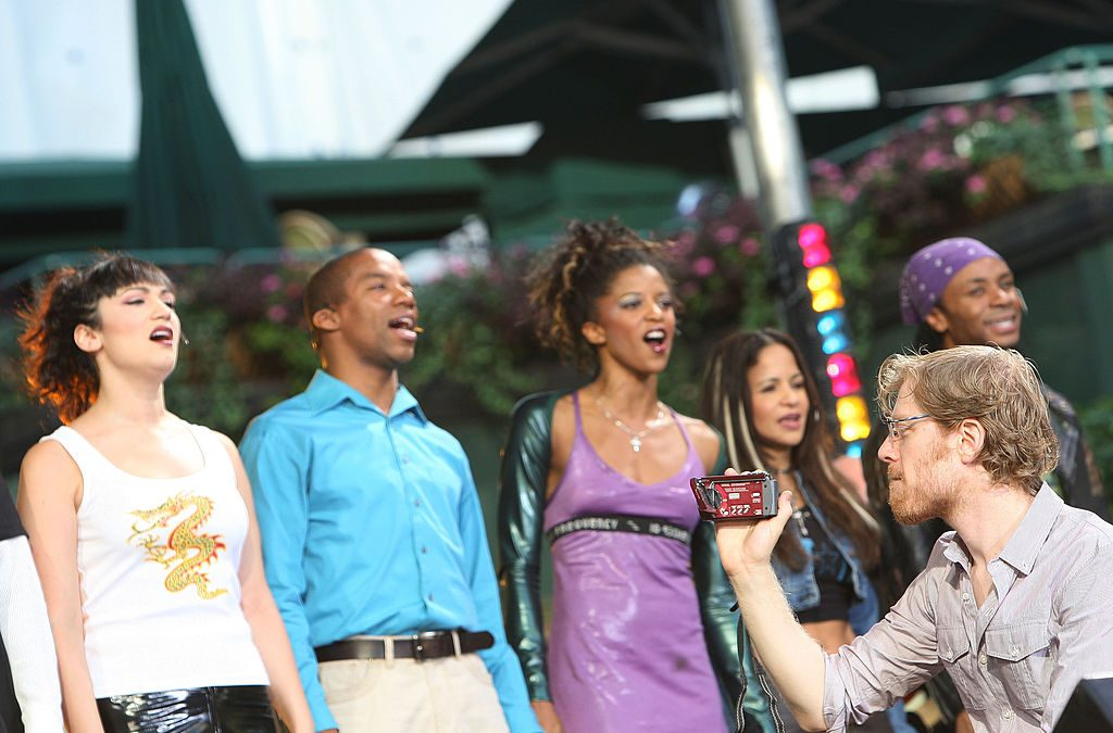"""Adam Pascal, Anthony Rapp and the Broadway Cast of """"Rent"""""""