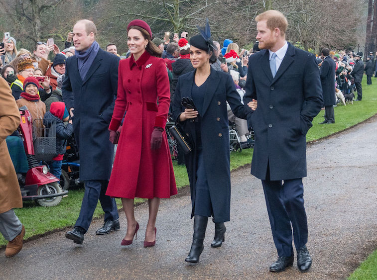 Dukes and Duchesses of Cambridge and Sussex