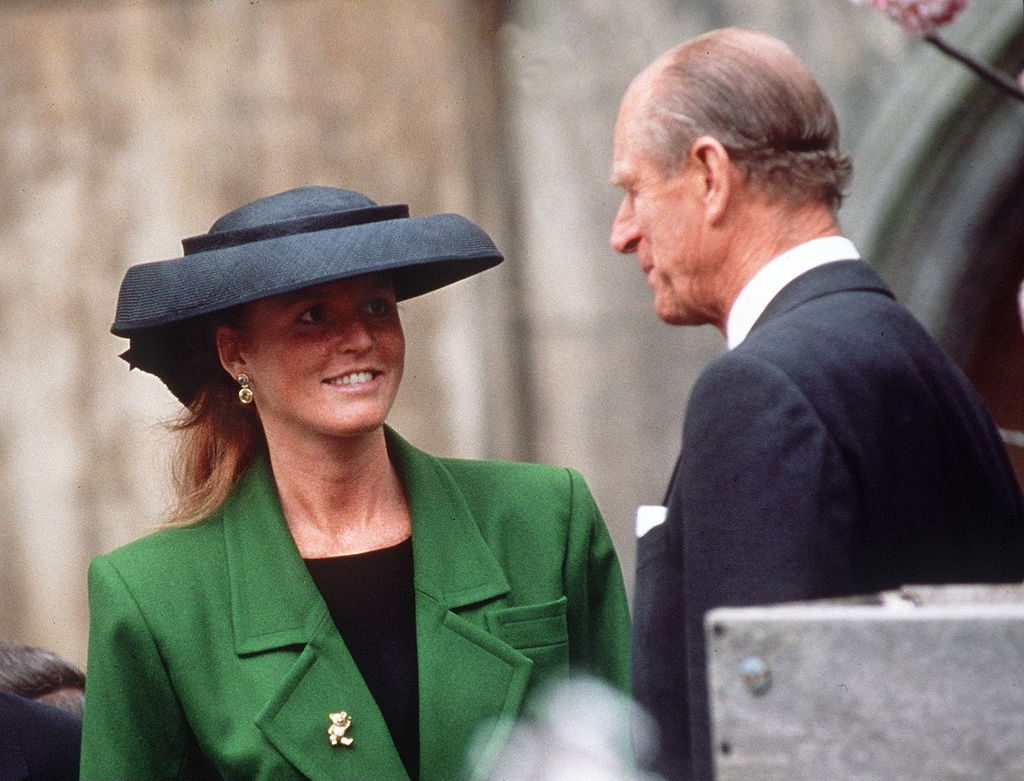 Sarah Ferguson, Duchess of York and Prince Philip, Duke of Edinburgh