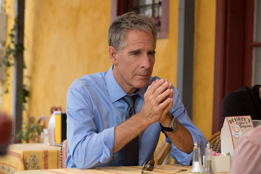 Scott Bakula on set of NCIS New Orleans| Patti Perret/CBS via Getty Images