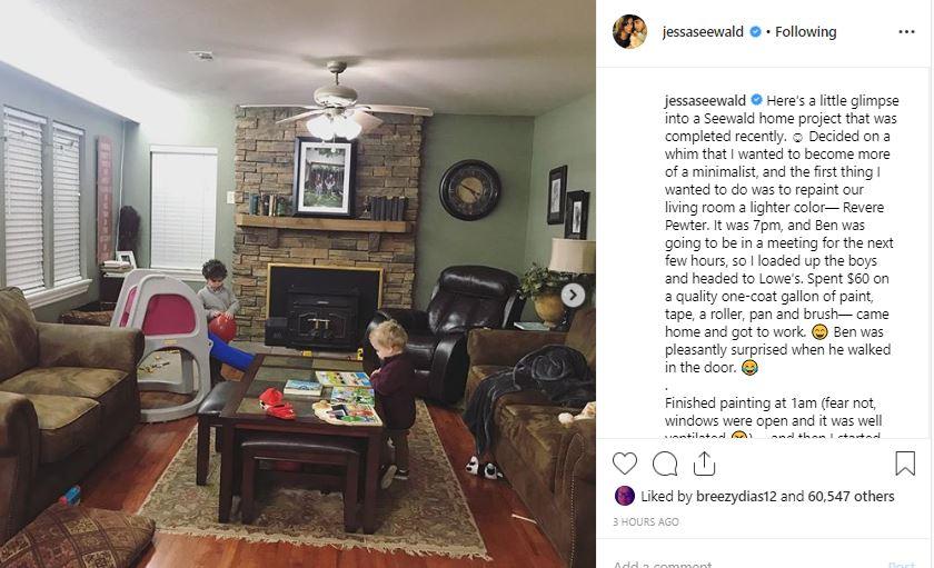 Jessa Seewald living room