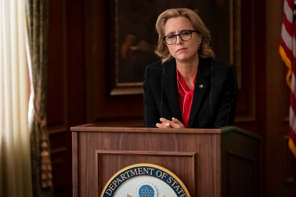 Téa Leoni as Elizabeth Adams McCord| Jeff Neumann/CBS via Getty Images