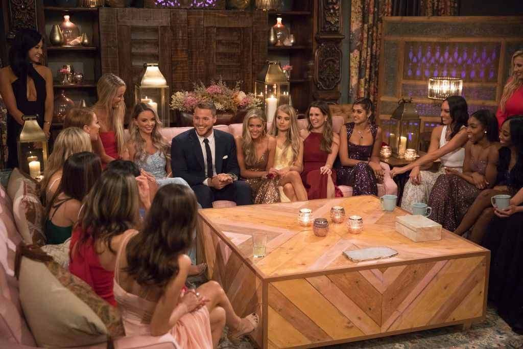 Colton Underwood and his contestants | Rick Rowell via Getty Images