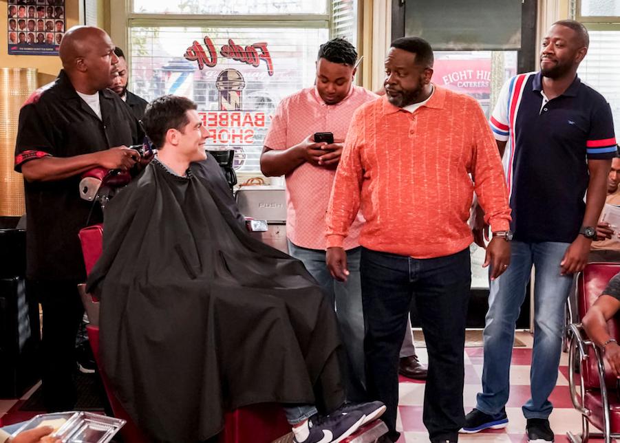 The Neighborhood's barber shop