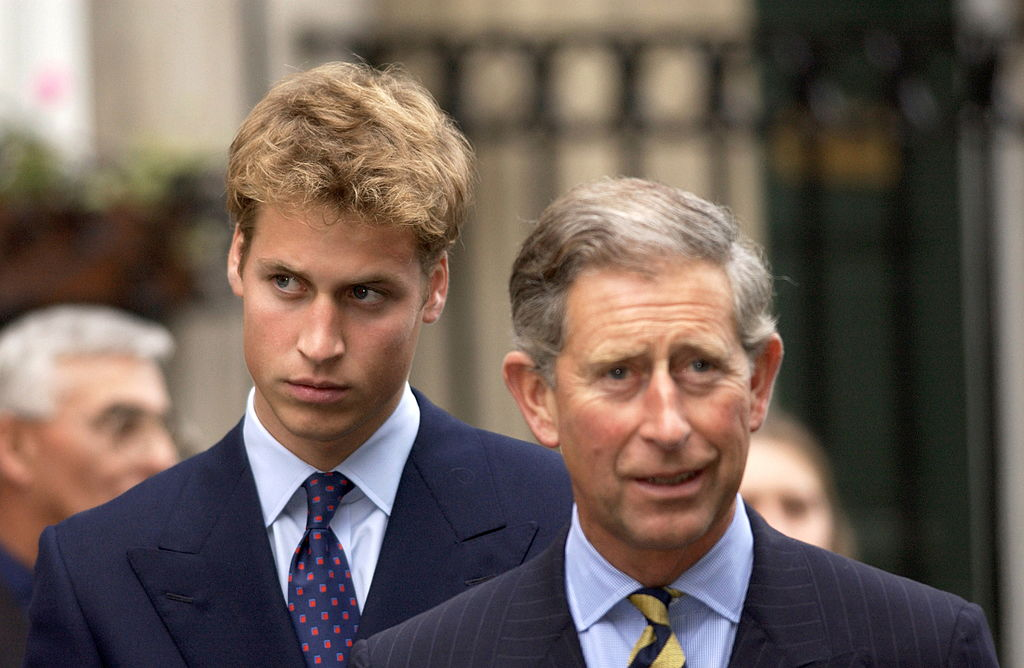 Prince William and Prince Charles