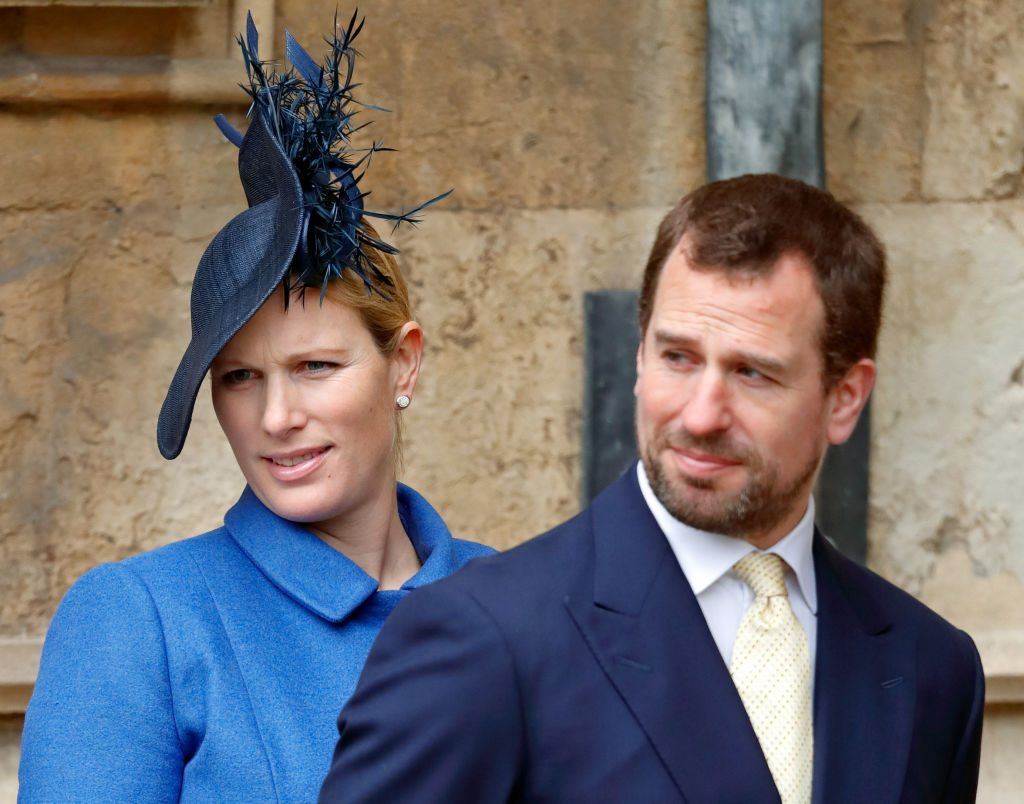 Zara Tindall and Peter Phillips