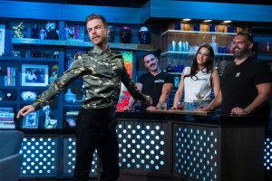 Derek Hough Delivers a Mesmerizing 'Real Housewife' Performance on 'WWHL'