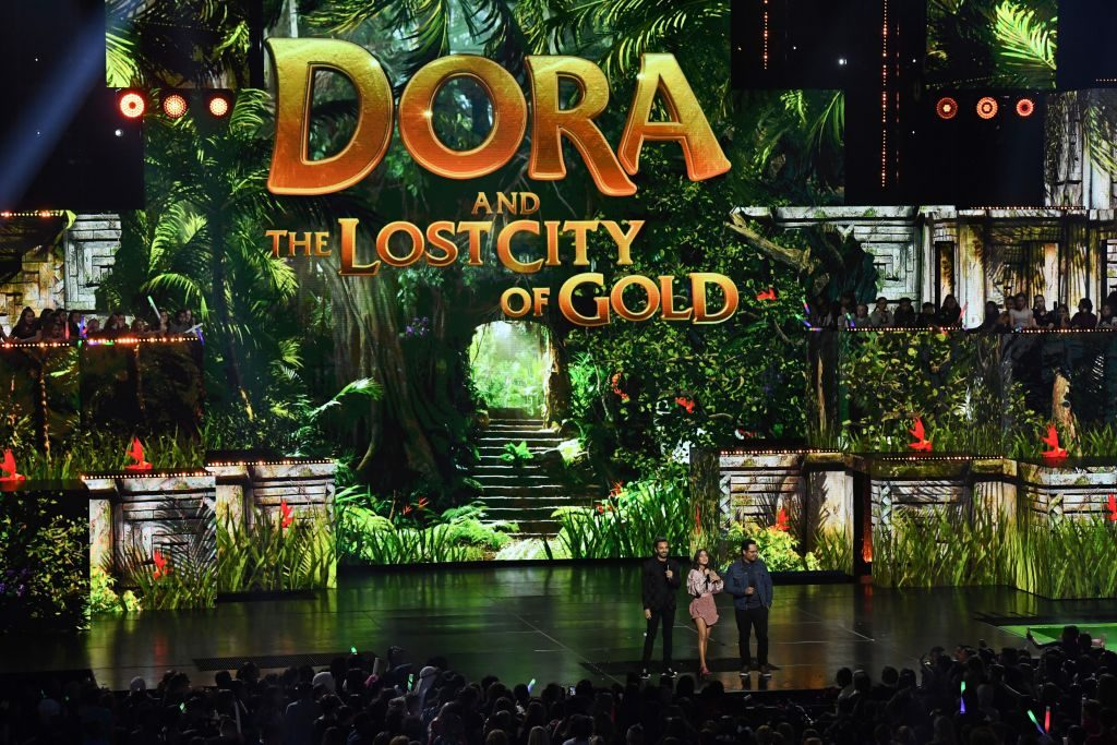 Dora and the Lost City of Gold trailer released at 2019 Kids Choice Awards