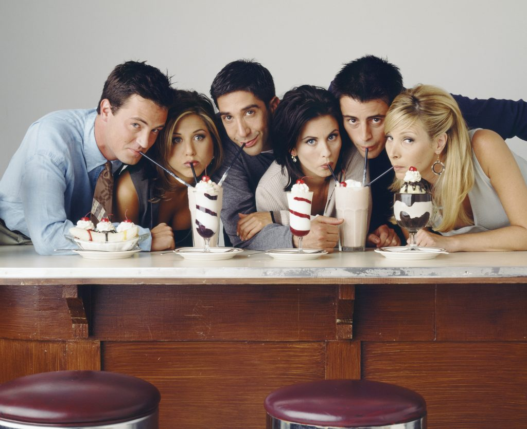 The cast of Friends. Will there be a Friends reboot reunion?