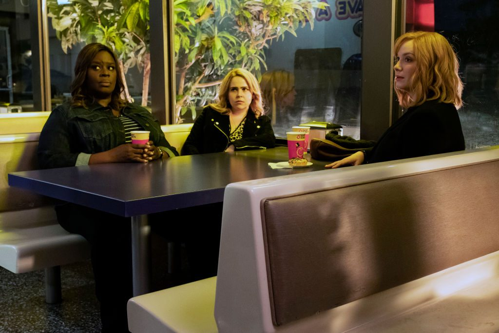 Retta, Mae Whitman, and Christina Hendricks on Good Girls