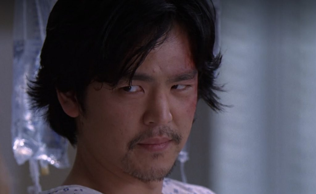 Marshall (John Cho) on Grey's Anatomy