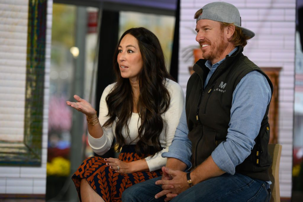 Chip and Joanna Gaines on Today show.