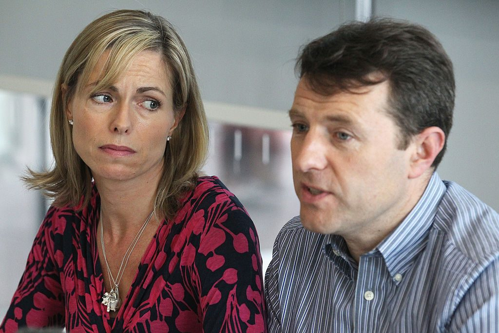 Kate and Gerry McCann