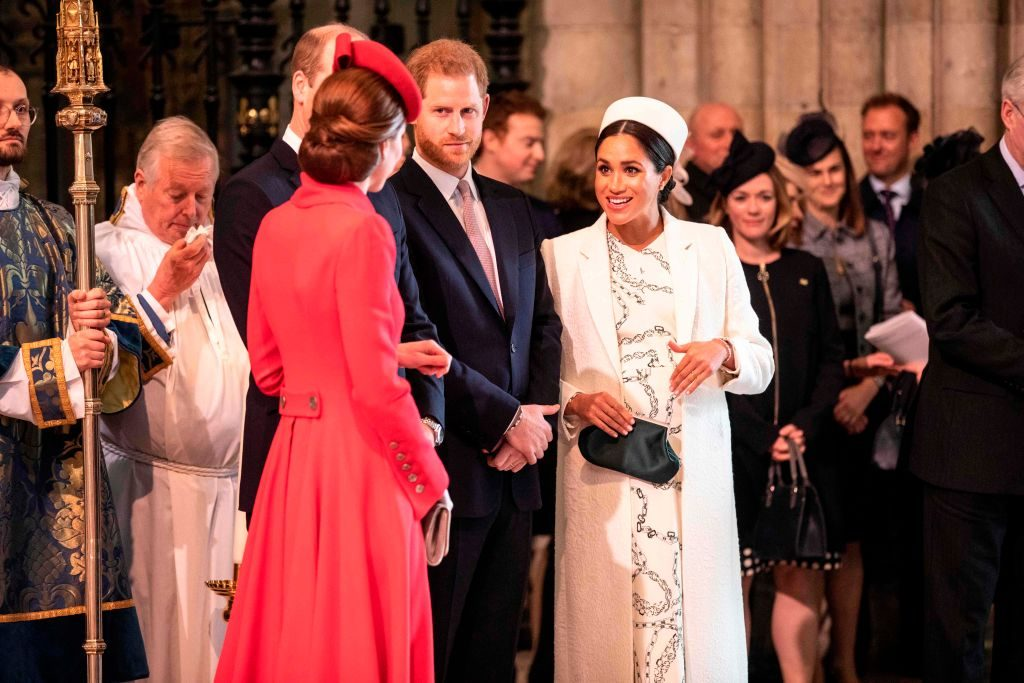 Meghan Markle, Prince Harry, Kate Middleton Commonwealth Day service at Westminster Abbey in London.