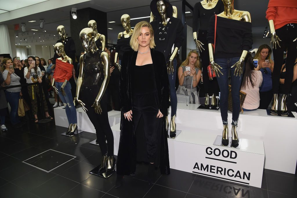 Khloe Kardashian And Emma Grede Celebrate The Launch Of Good American At Bloomingdale's