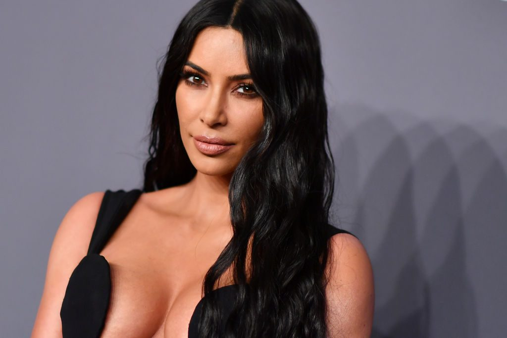 Kim Kardashian West at amfAR Gala New York