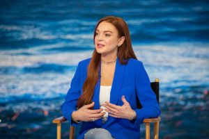 Lindsay Lohan Admits Her Return to the Spotlight Has Been Difficult