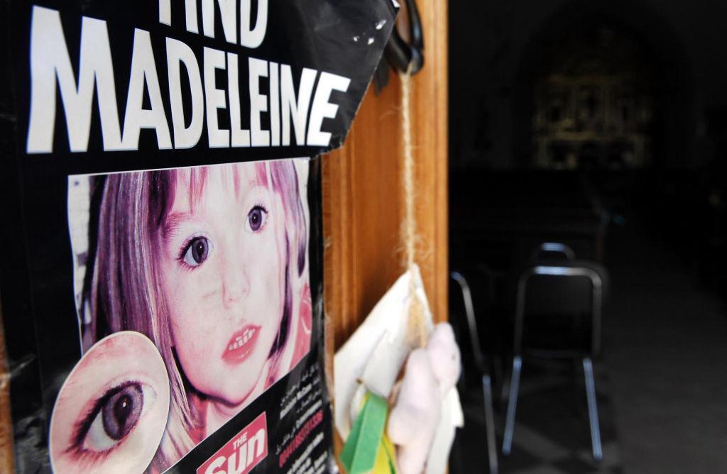 Madeleine McCann missing poster